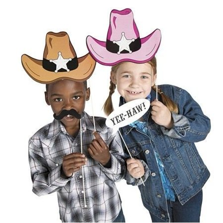 Cardboard Western Accessories Costume Stick Props - 12 - Cardboard Costumes