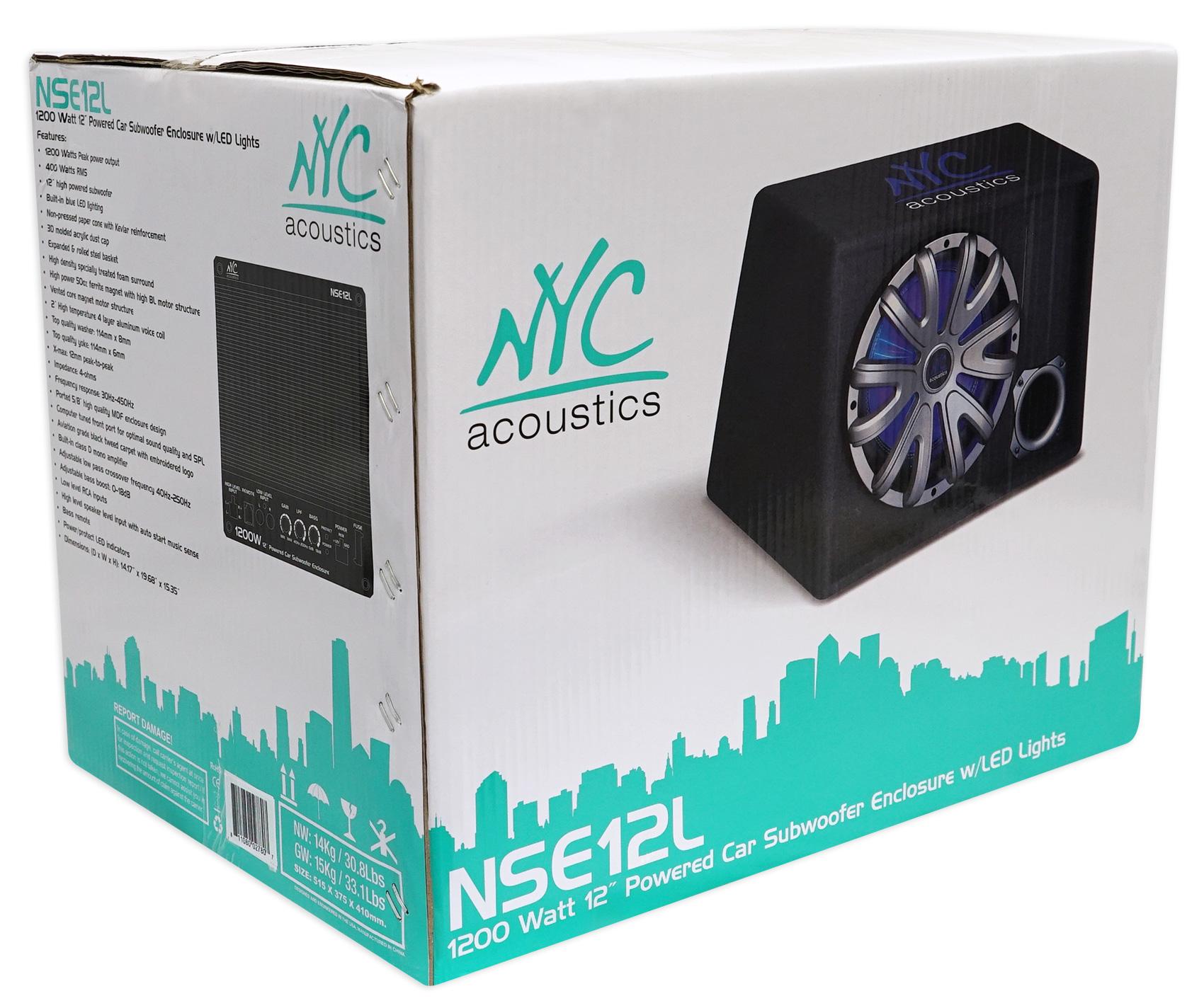 NYC Acoustics NSE12L 12\
