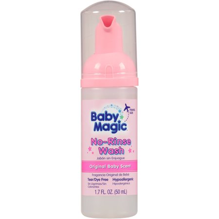 Baby Magic sans rinçage, de lavage 1,7 fl oz