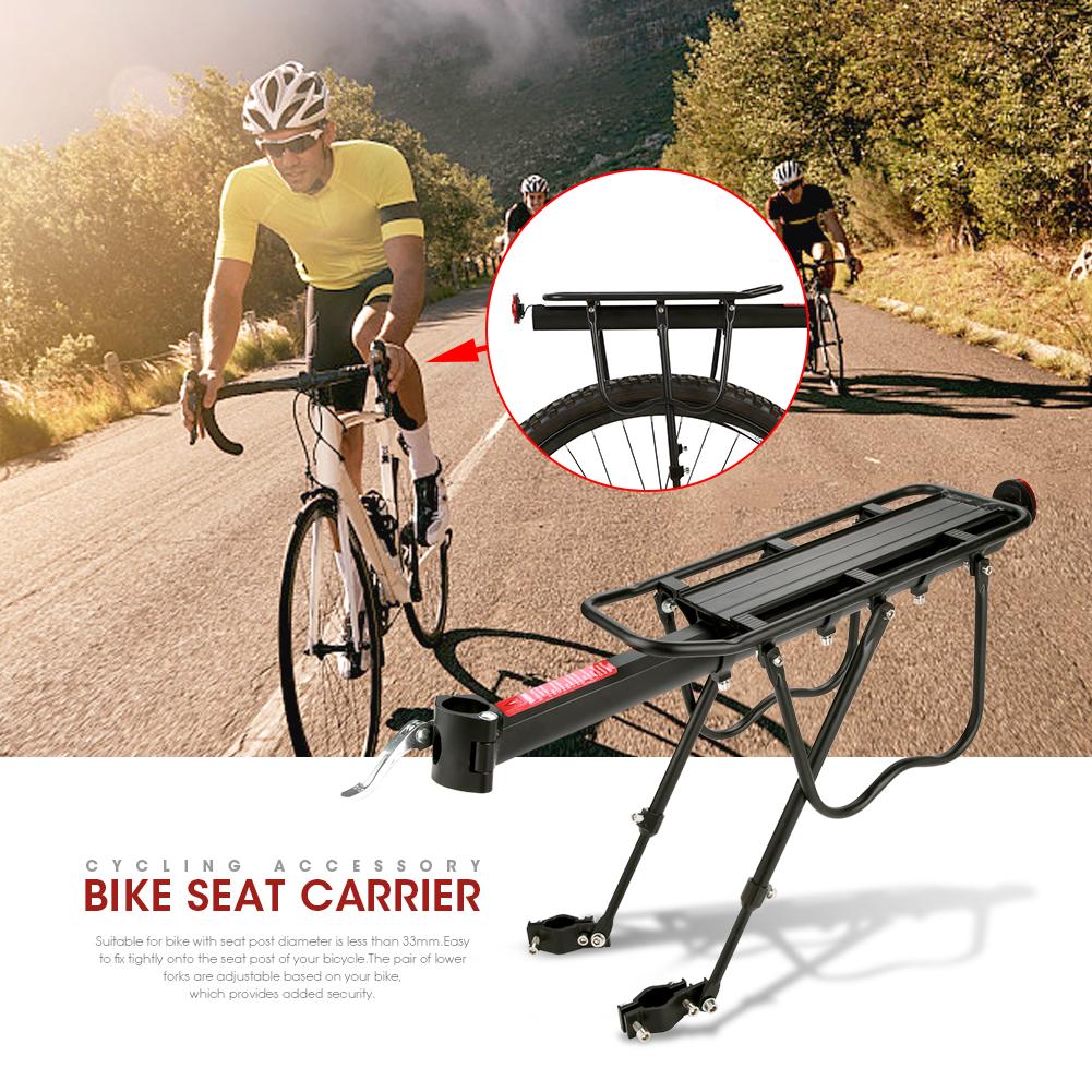 WALFRONT Aluminum Alloy Mountain Bike Bicycle Rear Seat Luggage Shelf Rack Carrier Cycling Accessory,Bike Luggage Rack,Bike Seat Rack - image 6 of 9