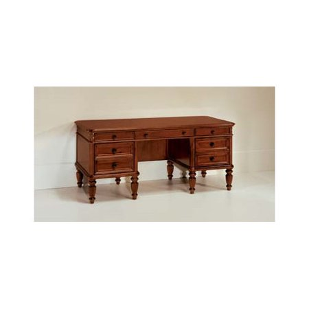 DMi Antigua Executive Wood Writing Desk in Cherry