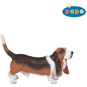 Basset Hound - Play Animal Figure by Papo Figures (54012)