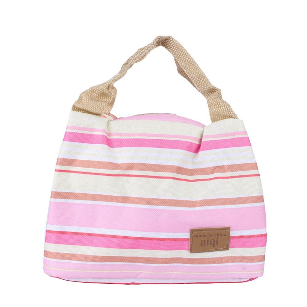 Hilitand Pink PRO Insulated Thermal Cooler Lunch Box Carry Tote Picnic Case Storage Bag EB