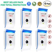 2018 MOST POWERFUL Ultrasonic Pest Repeller - Electronic Plug -In Pest Control Ultrasonic - Best Repellent for Cockroach, Rodents, Flies, Roaches, Ants, Mice,Spiders, Fleas
