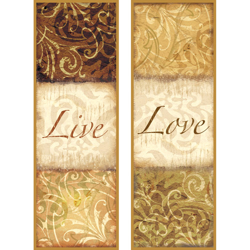 Pro Tour Memorabilia Live and Love Plaque, 2-Pack
