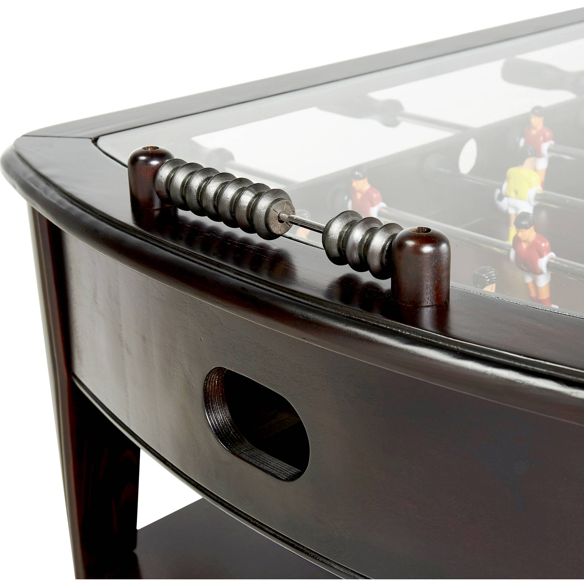 Barrington Inch Wooden Foosball Coffee Table Walmartcom - Foosball coffee table with stools