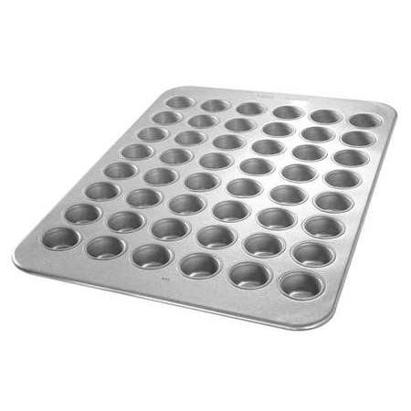 - CHICAGO METALLIC 45255 Mini Muffin Pan, 48 Moulds