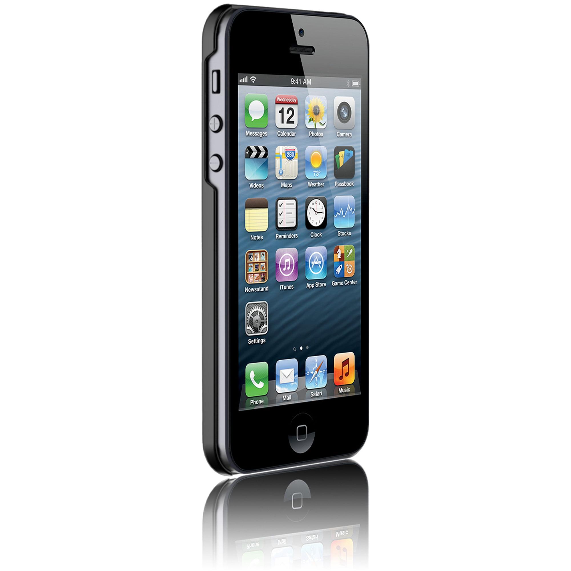 Araree Apple iPhone 5SE/5s Half-Case, Black