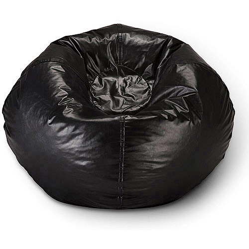 "98"" Round Vinyl Bean Bag, Multiple Colors"