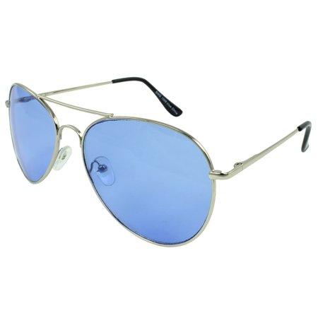 MLC Eyewear Weekender Aviator Fashion Sunglasses in (Blue Planet Eyewear)