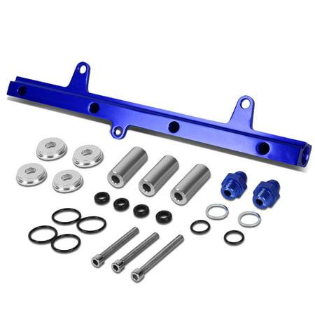 For 1989 to 1994 Nissan 240SX Top Feed High Flow Fuel Injector Rail Kit (Blue) - S13 SR20DET 90 91 92 - S13 Sr20det Oil