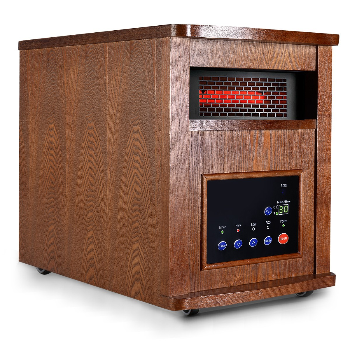 Pro 6 Element 1500 w Infrared Quartz Remote Heater