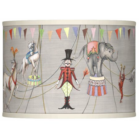 Giclee Glow Circus Time Giclee Lamp Shade 13.5x13.5x10 (Spider)