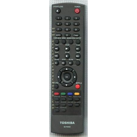TOSHIBA SER0402 (p/n: AH700907) Blu-Ray DVD Player Remote Control (new) (Toshiba Blu Ray Remote Control)