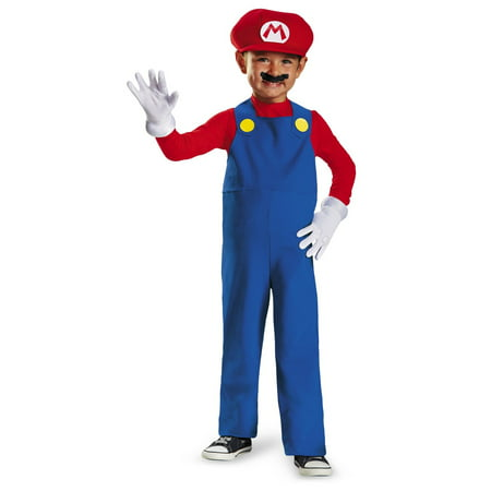 Mario Toddler Halloween Costume - Mario Costume Boys