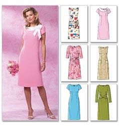 Butterick Pattern Misses' and Misses' Petite Dress, BB (8, 10, 12, 14)