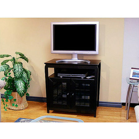 TechCraft Black TV Stand, for TVs up to 37