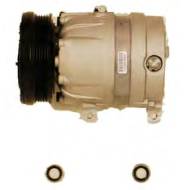 OEM VALEO AC COMPRESSOR FITS PONTIAC 96-98 GRAND AM 96-02 SUNIFRE 2.4L L4 146 CID  58991 CS0055 15-20455 1135202 471-9001