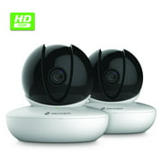 Best Pan Tilt Ip Cameras - 2-Pack Zencam WiFi Camera, Indoor Pan Tilt Zoom Review