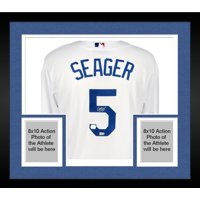 16cb0f14a Product Image Framed Corey Seager Los Angeles Dodgers Autographed White  Replica Jersey - Fanatics Authentic Certified