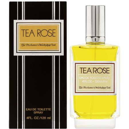 3 Pack - The Perfumer's Workshop Tea Rose Eau De Toilette 4 (Tiffany Hybrid Tea Rose)