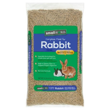 Small World Complete Rabbit Feed, 10 lbs. - Rabbit's Foot For Sale