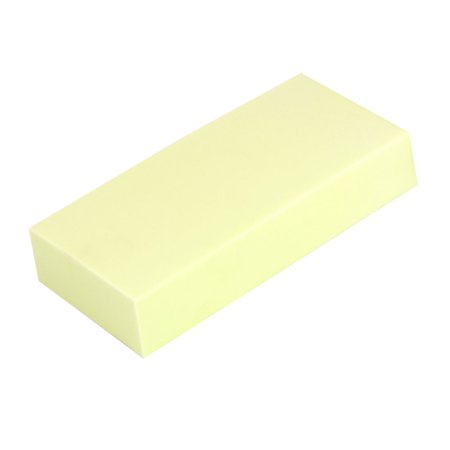 Unique Bargains Household Car Washing Cleaning Yellow Rectangular PVA Suction Sponge Pad Cleaner