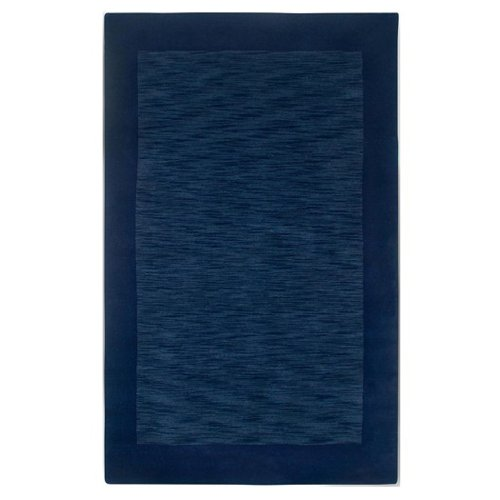 Rizzy Home Platoon Hand-Loomed Area Rug 2 Ft. X 3 Ft. Blue Model PLAPL2436ID000203