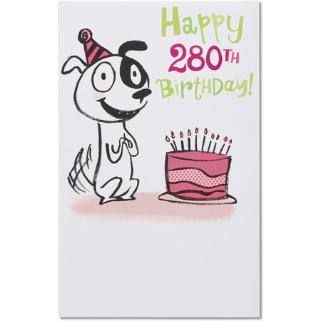 American Greetings Funny 40th Birthday Card With Foil