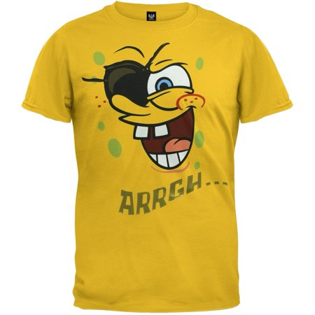 Spongebob Squarepants - Pirate Youth Costume T-Shirt