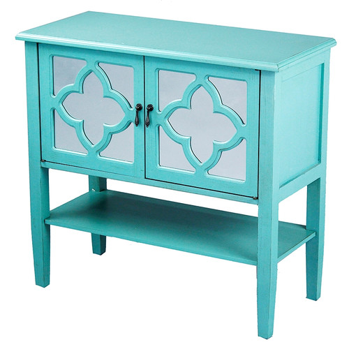 Heather Ann Creations 2 Door Console Cabinet