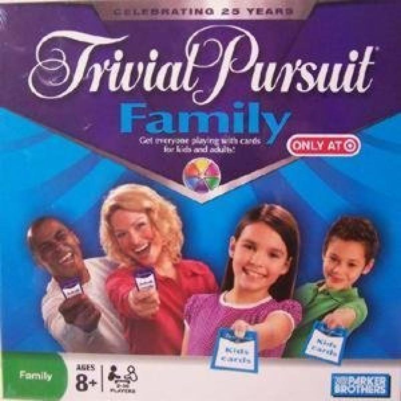 Hasbro Games Trivial Pursuit Family Edition by