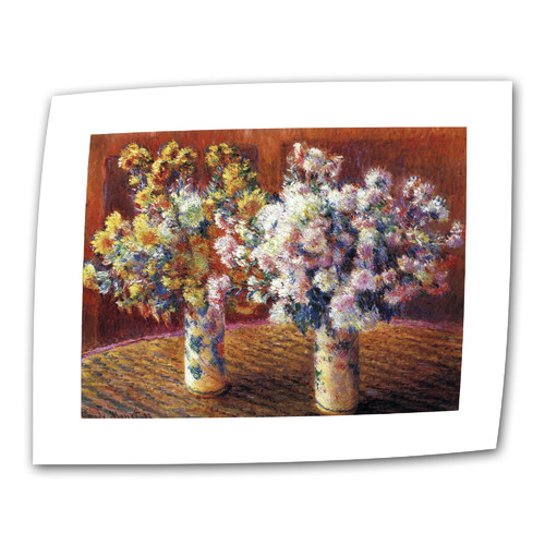 ArtWall ''Two Vases'' by Claude Monet Painting Print on Canvas