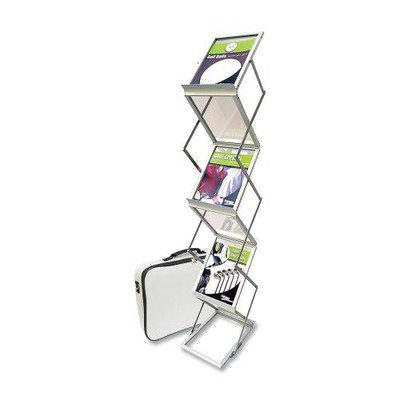Deflect-o Collapsible Literature Floor Stand - Collapsible Literature Stand