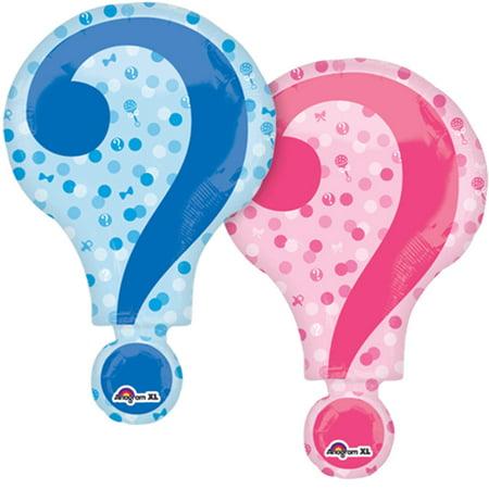 Gender Reveal Super Shape Foil Balloon 28