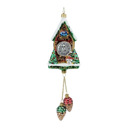 "11"" Christopher Radko ""Pinecone Time Zone"" Glittered Christmas Tree Ornament #1019326 - image 2 de 2"