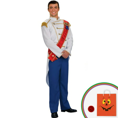 Charming Prince Adult Costume](Cinderella And Prince Charming Costumes)
