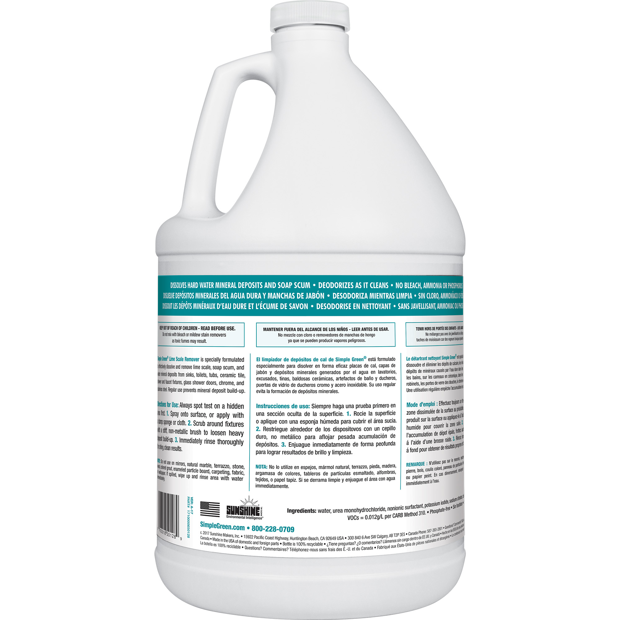 Simple Green, SMP50128, Lime Scale Remover, 1 Each, White - Walmart.com
