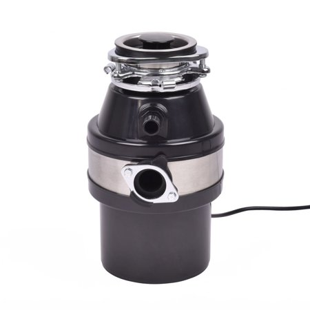 Goplus 1.0HP 2600RPM Food Waste Disposer Continuous Feed Home ...