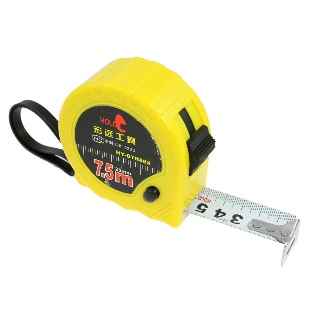 Unique Bargains Unique Bargains 25-Foot Retractable Metric Steel Tape Measure