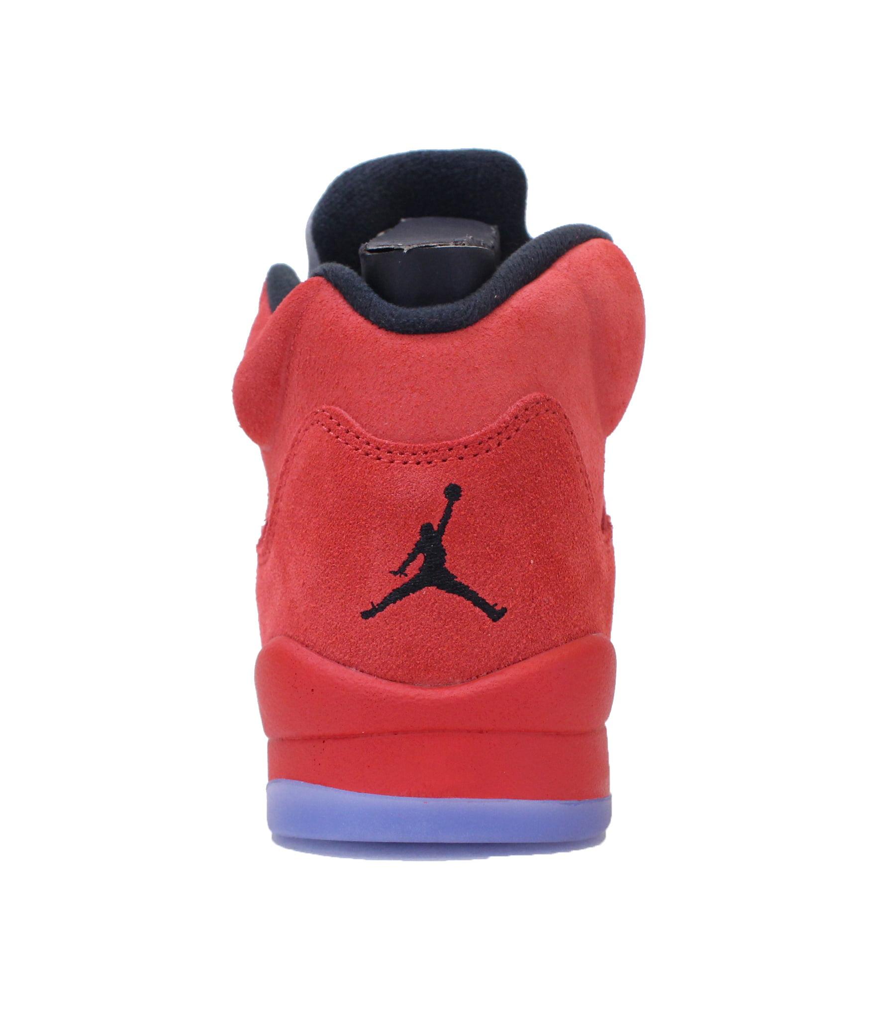 9754783d51d2 Jordan - AIR JORDAN 5 RETRO BG (GS)  RED SUEDE  - 440888-602 - Walmart.com