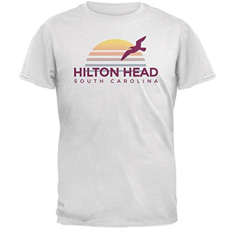 Beach Sun Hilton Head South Carolina Mens T Shirt
