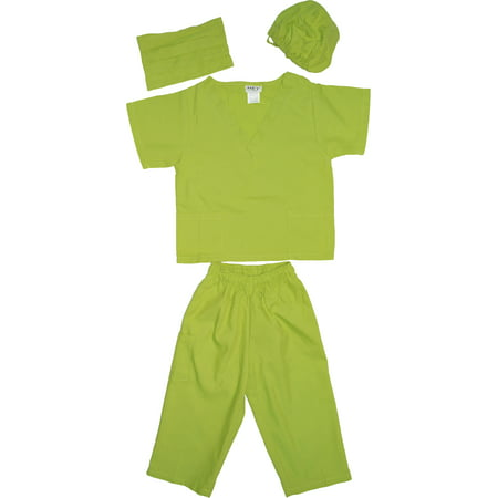 Kids Doctor Dress up Surgeon Costume Set, available in 13 Colors for 1-14 Years (Pink Minnie Mouse Halloween Costume)