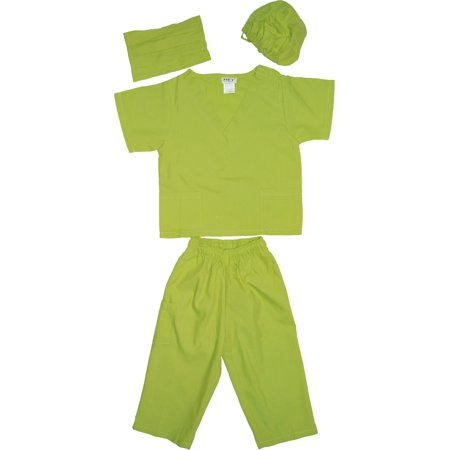 Kids Doctor Dress up Surgeon Costume Set, available in 13 Colors for 1-14 - Pink Ladies Grease Costume