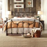 Tribecca Home  Bellwood Victorian Iron Metal Bed