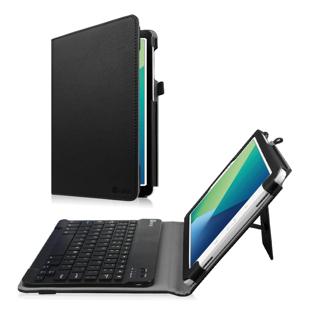 Fintie Keyboard Case for Samsung Galaxy Tab A 10.1 with S Pen Tablet , PU Leather Folio Cover with Bluetooth Keyboard