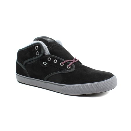 Globe Mens Motley Mid Skateboarding Insulated Leather Casual Shoes - Globe Skateboarding Shoes
