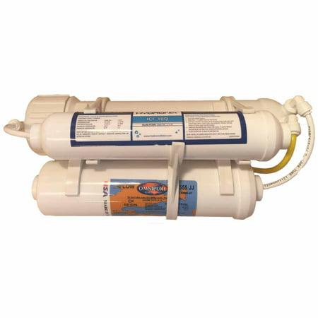 Mikro Omega 3 Stage Portable Aquarium Ro Di System With 75 Gpd Membrane