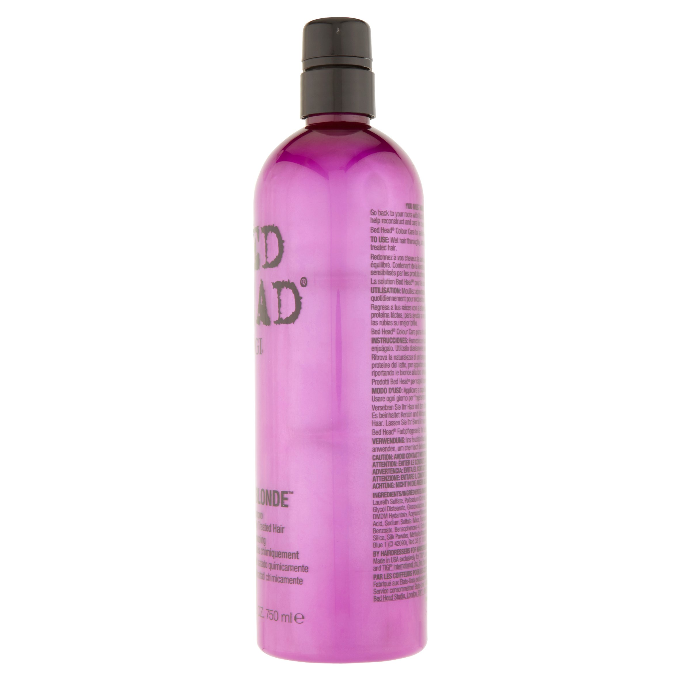 bed products resurrection hair lv shampoo en head tigi