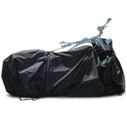 "Budge VIP Advanced Covers System Motorcycle Cover, Heavy Duty Waterproof Outdoor Protection for Motorcycles up to 9' 9"" L"